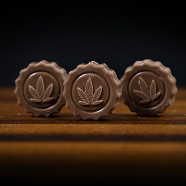 Milk Chocolate Canna Coin